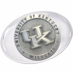 University of Kentucky Wildcats Logo Pewter Accent Paperweight