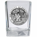 University of Kentucky Wildcats Pewter Accent Shot Glasses, Set of 4