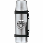 University of Kentucky Wildcats Pewter Accent Stainless Steel Thermos