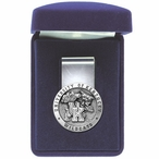 University of Kentucky Wildcats Pewter Accent Steel Money Clip