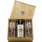 University of Kentucky Wildcats Pewter Accent Wine Box Set