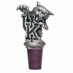 University of Kentucky Wildcats Pewter Wine Bottle Stopper