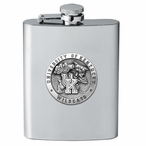 University of Kentucky Wildcats Stainless Steel Flask w/ Pewter Accent