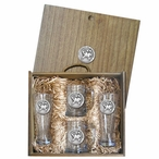 University of Maryland Terrapins Pewter Accent Beer Box Set