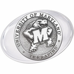 University of Maryland Terrapins Pewter Accent Paperweight
