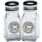 University of Maryland Terrapins Pewter Accent Salt & Pepper Shakers