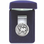 University of Maryland Terrapins Pewter Accent Steel Money Clip