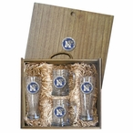 University of Memphis Tigers Blue Pewter Accent Beer Box Set