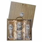University of Memphis Tigers Pewter Accent Beer Box Set