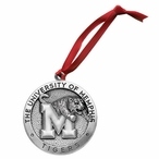 University of Memphis Tigers Pewter Accent Ornaments, Set of 2