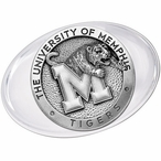 University of Memphis Tigers Pewter Accent Paperweight