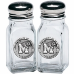 University of Memphis Tigers Pewter Accent Salt & Pepper Shakers