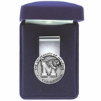 University of Memphis Tigers Pewter Accent Steel Money Clip