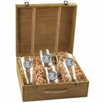 University of Miami Hurricanes Pewter Accent Beer Box Set