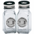 University of Miami Hurricanes Pewter Accent Salt & Pepper Shakers