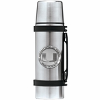 University of Miami Hurricanes Pewter Accent Stainless Steel Thermos