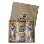 University of Mississippi Rebels Blue Pewter Accent Beer Box Set