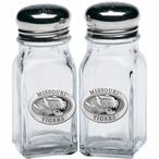 University of Missouri Tigers Pewter Accent Salt & Pepper Shakers