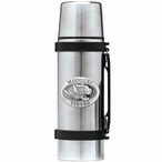 University of Missouri Tigers Pewter Accent Stainless Steel Thermos