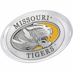 University of Missouri Tigers Yellow Pewter Accent Paperweight