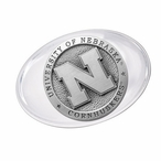 University of Nebraska Cornhuskers Pewter Accent Paperweight