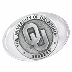 University of Oklahoma Sooners Pewter Accent Paperweight