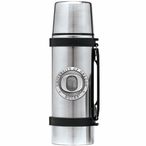 University of Oregon Ducks Pewter Accent Stainless Steel Thermos