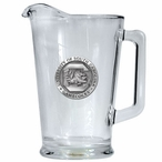 University of South Carolina Gamecocks Glass Pitcher w/ Pewter Accent