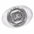 University of South Carolina Gamecocks Pewter Accent Paperweight