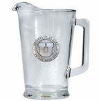 University of Utah Utes Glass Pitcher with Pewter Accent