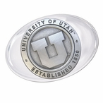 University of Utah Utes Pewter Accent Paperweight