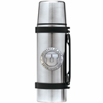 University of Utah Utes Pewter Accent Stainless Steel Thermos