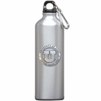 University of Utah Utes Pewter Accent Stainless Steel Water Bottle