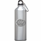 Virginia Cavaliers Pewter Accent Stainless Steel Water Bottle