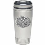 Virginia Cavaliers Stainless Steel Travel Mug with Pewter Accent