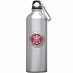 Virginia Military Institute Red Pewter Stainless Steel Water Bottle