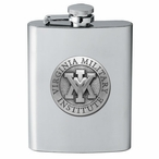 Virginia Military Institute VMI Keydets Flask with Pewter Accent