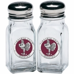 Virginia Tech Hokies Red Pewter Accent Salt & Pepper Shakers