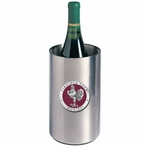 Virginia Tech Hokies Red Pewter Stainless Steel Wine Bottle Chiller