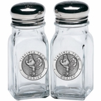 Virginia Tech University Hokies Pewter Accent Salt & Pepper Shakers