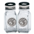 Washington State Cougars Pewter Accent Salt & Pepper Shakers