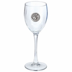 Washington State Cougars Pewter Accent Wine Glass Goblets, Set of 2