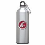 Washington State Cougars Red Pewter Stainless Steel Water Bottle