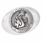 Washington State University Cougars Pewter Accent Paperweight