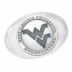 West Virginia University Mountaineers Logo Pewter Accent Paperweight