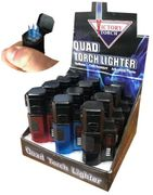 Victory 4 Torch Quad Lighter 12/bx