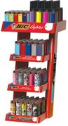 Bic 4 Tier 240ct Rack w/Extended Head Ltr