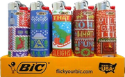 Bic Christmas Ugly Sweater Lighter