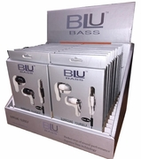 Blu Bass earphones24/Display