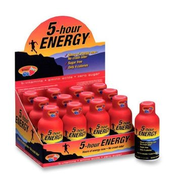 Chaser 5 Hour Energy *7 boxes*